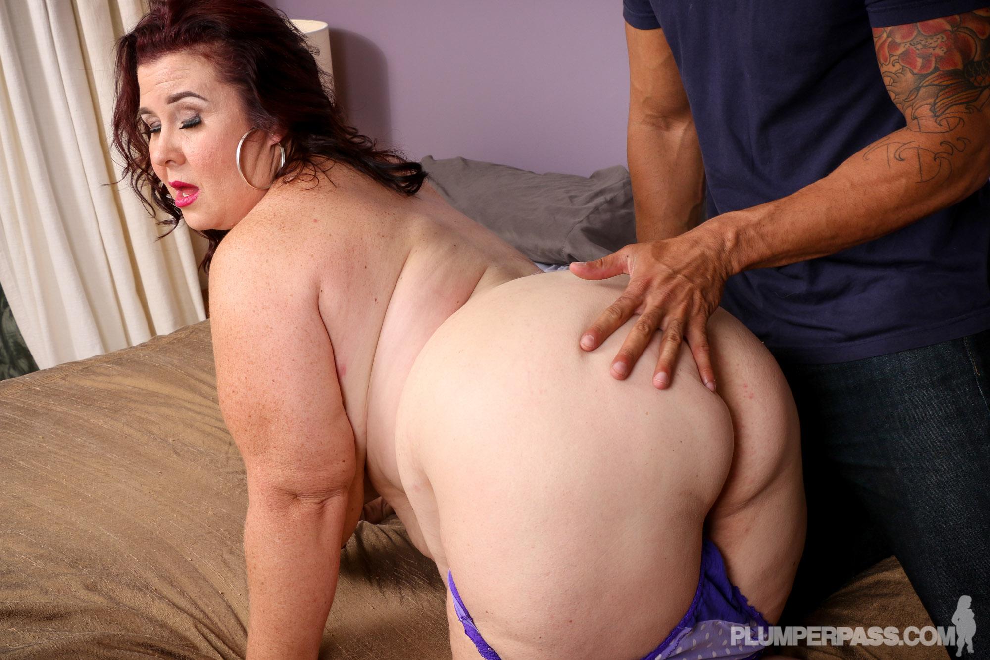 Порно видео мам толстушек