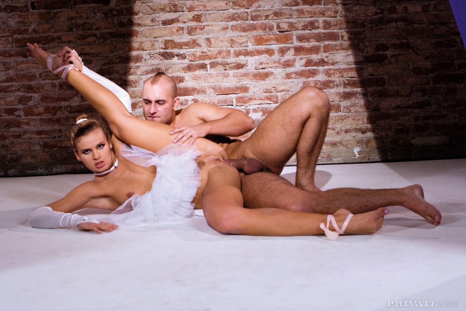 Порно русские балерины